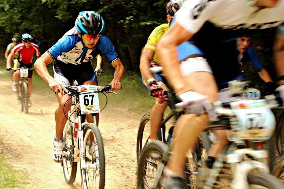 Ужгородская трасса для горного велоспорта одна из лучших в Украине